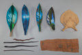 Tribal Art, Ten Miscellaneous Amazonian Items... (Total: 10 Items)
