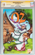 Modern Age (1980-Present):Miscellaneous, Wonderful Wizard of Oz #1 Campbell Variant Edition Signed by J. Scott Campbell (Marvel, 2009) CGC MT 10.0 White pages....