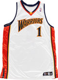Basketball Collectibles:Uniforms, 2007-08 Stephen Jackson Game Worn Golden State Warriors Jersey. ...