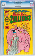 Bronze Age (1970-1979):Cartoon Character, Richie Rich Zillionz #2 (Harvey, 1977) CGC NM 9.4 Off-white towhite pages....