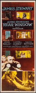 "Movie Posters:Hitchcock, Rear Window (Paramount, 1954). Insert (14"" X 36""). Hitchcock.. ..."