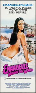 """Movie Posters:Adult, Emanuelle Around the World (Jerry Gross, 1980). Inserts (20) (14"""" X 36""""). Adult.. ... (Total: 20 Items)"""