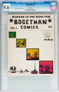 Silver Age (1956-1969):Alternative/Underground, Bogeyman #1 (San Francisco Comic Book Company, 1969) CGC NM+ 9.6White pages....