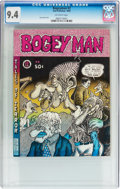 Silver Age (1956-1969):Alternative/Underground, Bogeyman #2 (San Francisco Comic Book Company, 1969) CGC NM 9.4Off-white pages....
