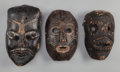 Tribal Art, Three Masks, Nepal... (Total: 3 Items)