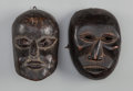 Tribal Art, Two Masks, Nepal... (Total: 2 Items)