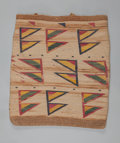 American Indian Art:Baskets, A Nez Perce Twined Cornhusk Bag. c. 1900...