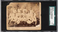 Baseball Cards:Singles (Pre-1930), Possibly Unique April 29, 1886 Kansas City Cowboys Souvenir ParkDedication Team Card SGC Authentic. ...