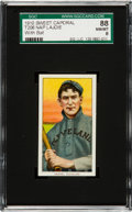 Baseball Cards:Singles (Pre-1930), 1909-11 T206 Sweet Caporal Nap Lajoie, With bat SGC 88 NM/MT 8 -Pop One, Only One Higher! ...