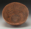 American Indian Art:Baskets, A Large Pima Coiled Bowl. c. 1890...