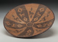 American Indian Art:Baskets, A Yavapai Pictorial Tray . c. 1900...