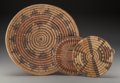 American Indian Art:Baskets, Three Southwest Basketry Items ... (Total: 3 )