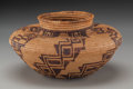 American Indian Art:Baskets, A Panamint Coiled Bottleneck Jar . c. 1900...