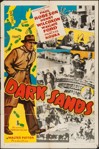 "Dark Sands (Record Pictures, 1938). One Sheet (27"" X 41""). Adventure"
