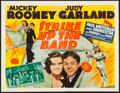 "Movie Posters:Musical, Strike Up the Band (MGM, 1940). Half Sheet (22"" X 28.5""). Musical.. ..."