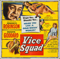 """Movie Posters:Crime, Vice Squad (United Artists, 1953). Six Sheet (79"""" X 79""""). Crime....."""