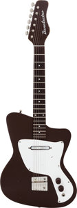 Musical Instruments:Electric Guitars, 1968 Danelectro . Dane Brown Solid Body Electric Guitar.... (Total:2 Items)