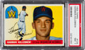 Baseball Cards:Singles (1950-1959), 1955 Topps Harmon Killebrew #124 PSA NM 7....