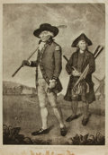 Books:Prints & Leaves, [Golf, Sporting Prints]. Nineteenth-Century Print after a Work byL. F. Abbott Entitled, To The Society of Goffers at Bl...