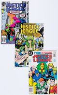 Modern Age (1980-Present):Superhero, Justice League America/Justice League International Box Lot (DC,1987-94) Condition: Average NM--.... (Total: 2 Box Lots)