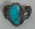 American Indian Art:Jewelry and Silverwork, A Navajo Silver and Turquoise Bracelet ...