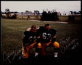 Football Collectibles:Photos, Jerry Kramer and Fuzzy Thurston Multi Signed Photograph....