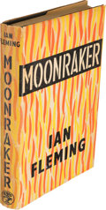 Books:Fiction, Ian Fleming [ James Bond ]. Moonraker. London: Jonathan Cape, [1955]. First edition, first state, in the first iss...