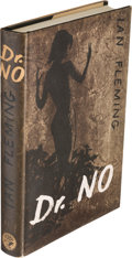 Books:Fiction, Ian Fleming [ James Bond ]. Dr No. London: Jonathan Cape,[1958]. First edition, in first state binding (front board...