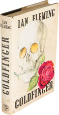 Books:Fiction, Ian Fleming [ James Bond ]. Goldfinger. London: JonathanCape, [1959]. First edition, first issue, first state bindi...