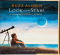 Autographs:Celebrities, Buzz Aldrin Signed Book: Look to the Stars....