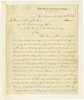 "Military & Patriotic:Revolutionary War, (American Revolution: The Fall of Philadelphia) John Turner,Philadelphia merchant, Autograph Letter Signed, ""JnoTurner..."