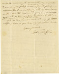 Military & Patriotic:Civil War, Edmund Ruffin And John Grimball Signatures. A truly remarkable pair of signatures belonging to the men - both Confederates -...
