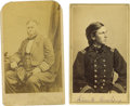 Photography:CDVs, Two Scarce Naval Officer Cartes de Visite. Commodore John Goldsborough (light soiling, top corners rounded) and Lieutena...