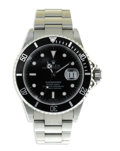 "Timepieces:Wristwatch, Rolex, Men's Stainless Steel ""Submariner"" Self-Winding, OysterBracelet Wristwatch, Production date 2002¾. Case: 40 mm, st..."