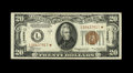 Small Size:World War II Emergency Notes, Fr. 2305* $20 1934A Hawaii Federal Reserve Note. Very Fine.. The circulation is light on this well-margined star.. From Th...