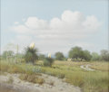 Paintings, GERALD HARVEY (b. 1933). Open Field, 1964. Oil on canvas. 20in. x 24in.. Signed and dated lower right. Titled verso. T...