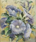 Texas:Early Texas Art - Regionalists, MARIE COCKRELL (dec.). Morning Glories, 1946. Oil oncanvasboard. 16in. x 14in.. Signed and dated lower right. A nice...