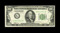 Small Size:Federal Reserve Notes, Fr. 2153-G* $100 1934A Mule Federal Reserve Note. Extremely Fine-About Uncirculated.. This is a new low serial number for th...