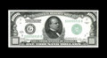 Small Size:Federal Reserve Notes, Fr. 2210-G $1000 1928 Federal Reserve Note. Choice Crisp Uncirculated.. Natural paper wave is viewed on this example. The ri...