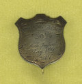 "Military & Patriotic:Civil War, 1st Michigan Silver I.D. Pin. Engraved ""WM. O. Boughton Co. B. 1st Mich. Infantry, 3rd Brig., 1st Div., 5th A. C"". Bough..."
