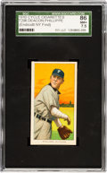 Baseball Cards:Singles (Pre-1930), 1909-11 T206 Cycle 350 Deacon Phillippe SGC 86 NM+ 7.5 - Pop One, None Higher. ...