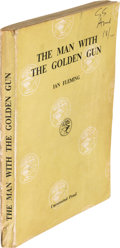 Books:Fiction, Ian Fleming [ James Bond ]. The Man with the Golden Gun.London: Jonathan Cape, [1965]. Uncorrected Proof. ...
