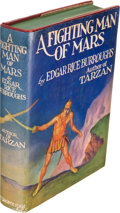 Books:Science Fiction & Fantasy, Edgar Rice Burroughs. A Fighting Man of Mars. New York:Metropolitan Books, Inc., [1931]. First edition. ...