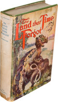 Books:Science Fiction & Fantasy, Edgar Rice Burroughs. The Land that Time Forgot. Chicago: A.C. McClurg & Co., 1924. First edition. ...