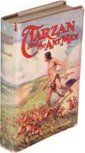 Books:Science Fiction & Fantasy, Edgar Rice Burroughs. Tarzan and the Ant Men. Chicago: A. C.McClurg & Co., 1924. First edition. ...
