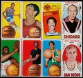 Basketball Cards:Lots, 1969 & 1970 Topps Basketball Collection (236). ...