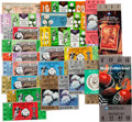 Football Collectibles:Tickets, 1950's-90's Cotton Bowl Ticket Stubs & Full Tickets Run of 24....