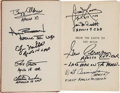 Explorers:Space Exploration, Jules Verne: From the Earth to the Moon Book Signed by NineApollo Astronauts....
