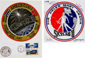 Explorers:Space Exploration, Skylab II (SL-3) Signed Wives Decal, Number 1116, from the AlanBean Family Collection. ... (Total: 3 )