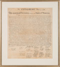 Military & Patriotic:Revolutionary War, William J. Stone for Peter Force: The Declaration of Independence....